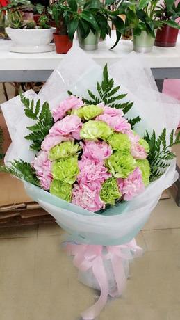 石夏兰康乃馨鲜花母亲鲜花图片展示。