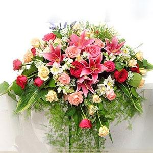 石夏兰瀑布式演讲台,大会堂主席台,台面花,大教室,演讲台鲜花,会议厅,发言人台花,花烛鲜花图片展示