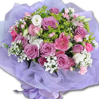 石夏兰【母亲怀抱】生日鲜花速递 鲜花图片展示