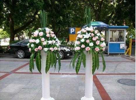 石夏兰罗马柱花仿真鲜花图片展示。
