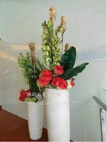 石夏兰仿真鲜花图片展示。