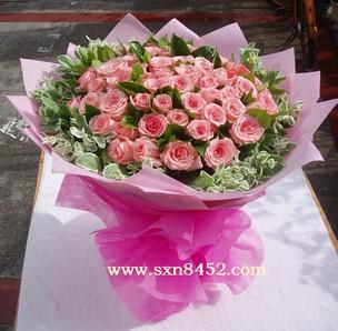 石夏兰99朵粉玫瑰,高端时尚,深圳鲜花,速递生日玫瑰,花束预订,福田,南山,鲜花店鲜花图片展示。