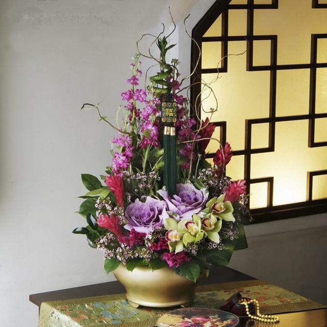 石夏兰【物华天宝】新年鲜花鲜花图片展示。