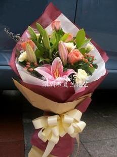 石夏兰七夕情人鲜花图片展示