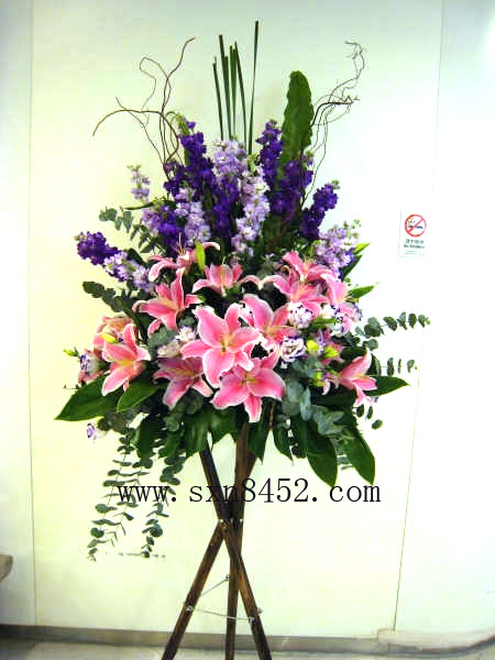 石夏兰送香港花篮鲜花图片展示。