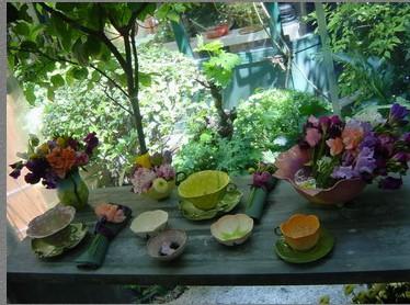 石夏兰花点鲜花图片展示。