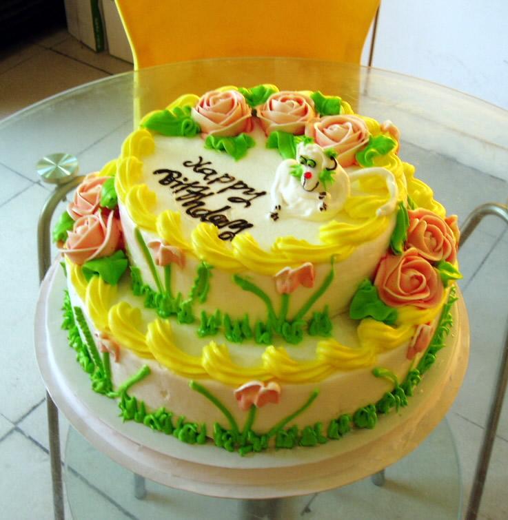 石夏兰蛋糕鲜花图片展示