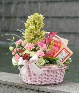 石夏兰【福旺财旺】节日鲜花鲜花图片展示。
