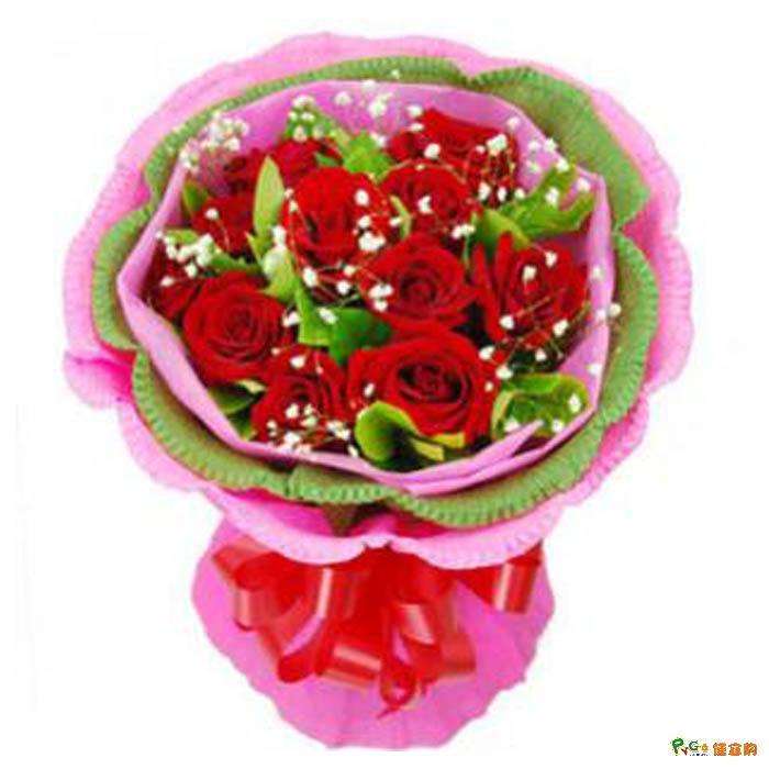 石夏兰特价,玫瑰花图片,生日鲜花,深圳同城花店,送花,朋友,同事生日,福田鲜花店,9朵红玫瑰鲜花图片展示。