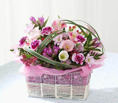 石夏兰礼品花篮鲜花图片展示。