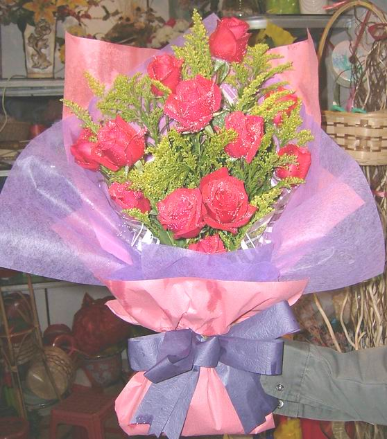 石夏兰圣诞节鲜花图片展示。