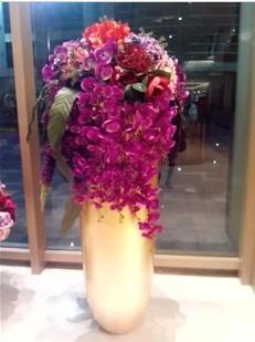 石夏兰高仿真鲜花图片展示。