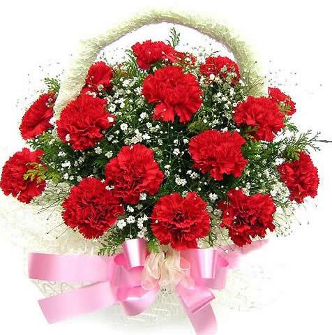 石夏兰【真切的爱】送母亲花篮鲜花图片展示