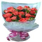 石夏兰【爱恋天使】21朵玫瑰鲜花图片展示。
