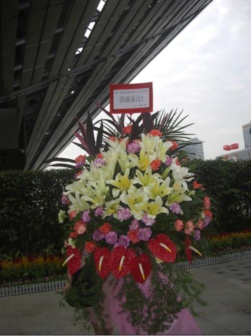 石夏兰深圳,演出祝贺花篮,观澜速递鲜花图片展示。