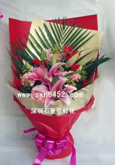 石夏兰生日鲜花速递-【如意】鲜花图片展示。