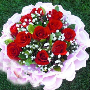 石夏兰七夕鲜花图片展示