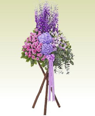 石夏兰演出祝贺,三角架花篮,演出祝贺鲜花,画展,摄影鲜花图片展示。