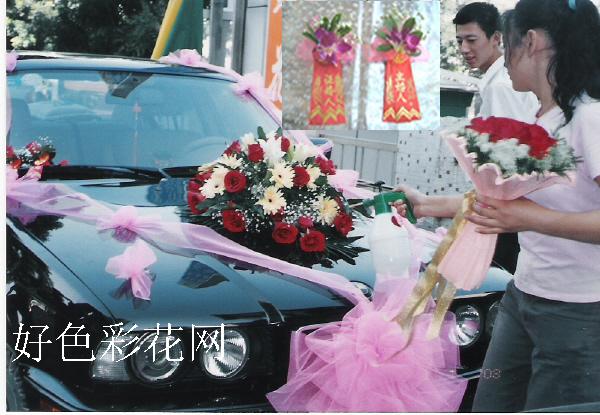 石夏兰爱就结婚吧婚礼鲜花套餐鲜花图片展示