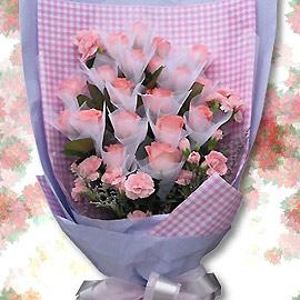 石夏兰【青春浪漫的妈咪】 母亲生日鲜花图片展示。