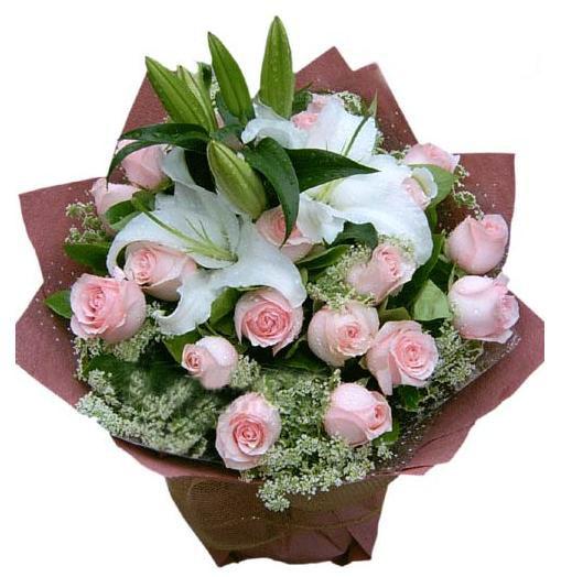 石夏兰【真爱】21枝玫瑰鲜花图片展示。