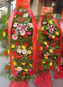 石夏兰三层热销花篮,开业花篮图片,三层花篮,罗湖花篮鲜花图片展示。