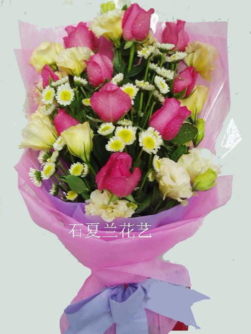 石夏兰七夕鲜花鲜花图片展示。