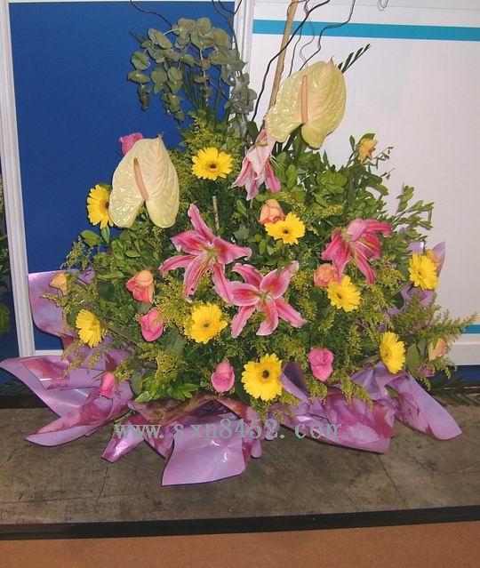 石夏兰送港鲜花图片展示。