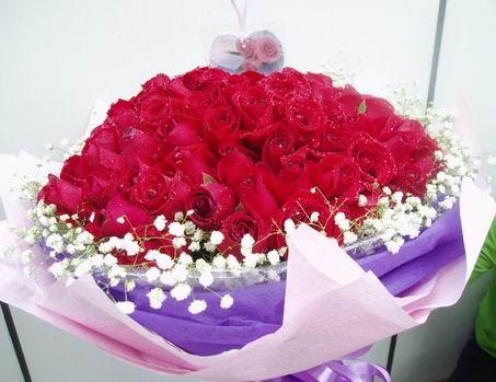 石夏兰108朵玫瑰嫁给我吧鲜花图片展示