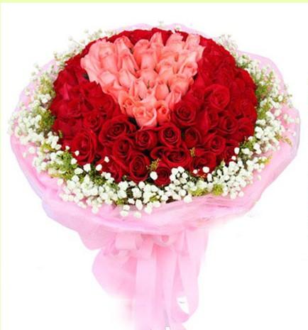 石夏兰99朵玫瑰,生日花束,深圳鲜花店,66朵红玫瑰花,33朵粉玫瑰,混搭花束,坂田,龙华,南头,福田,莲塘,布吉店鲜花图片展示。