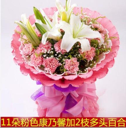 本店热销鲜花作品,点击订购。