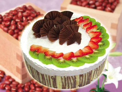 点击进入生日 蛋糕页面